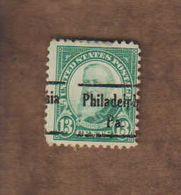 "USA. (Y&T) 1925-31 - N°257 * B. Harison*   * 13c * Obl ""Philadelphia"" - United States"