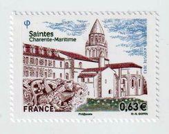 TIMBRE -  2013  -  4753  -  Série Touristique ,Saintes ,l'Abbaye Aux Dames  -  Neuf Sans Charnière - Frankreich
