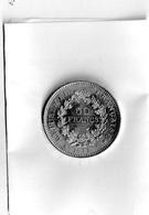 PIECE DE 50 FRANCS EN ARGENT    HERCULE 1977 - M. 50 Francs