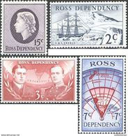 Ref. 214886 * NEW * - NEW ZEALAND. Ross Dependency . 1967. TRANS ANTARCTIC EXPEDITION. EXPEDICION TRANS-ANTARTICA - Ross Dependency (New Zealand)