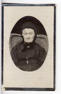 Doodsprentje VROUW FEMME Anna-Marie BEECKMAN °1830 HAELTERT HAALTERT +1929 HAELTERT HAALTERT // LIEVENS - Images Religieuses