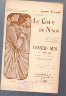 Partition (chanson Petit Format)     Le Coeur De Ninon (ill Gendrot) (MPA PF 337) - Musique & Instruments