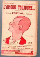 Partition (chanson Petit Format)  L'amour Toujours  (ill Ch Gir) 1921   (MPA PF 339) - Musique & Instruments