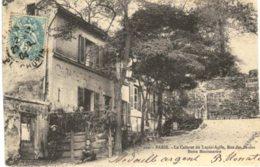 PARIS ... BUTTE MONTMARTRE .... RUE DES SAULES ... LECABARET LE LAPIN AGILE - Distrito: 18