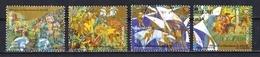 Portugal 2000 : Timbres Yvert & Tellier N° 2408 - 2409 - 2410 Et 2411 Oblitérés - 1910-... République