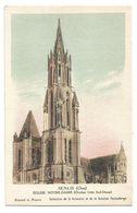Chromo Senlis (Oise) Eglise Notre-Dame (clocher Côté Sud-Ouest) - Kolarsine Et Pautauberge - Les Cathédrales De France - History