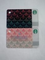 China Gift Cards, Starbucks,  2020 (2pcs) - Cartes Cadeaux