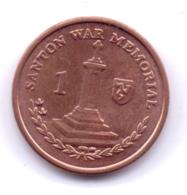 ISLE OF MAN 2015: 1 Penny, KM 1253 - Regionale Währungen