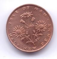 ISLE OF MAN 1971: 1/2 Penny, KM 19 - Regionale Währungen