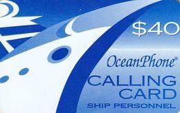 PUERTO RICO - Oceanphone By Itelsa Satellite Prepaid Card $40 Exp.date 31/12/01, Used - Puerto Rico