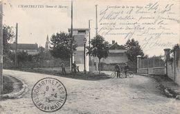CHARTRETTES - Carrefour De La Rue Basse - Autres Communes