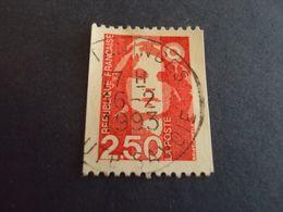 "1989-96 MARIANNE BICENTENAIRE  - Oblitéré N°  2719  "" 2.50 F Rouge""  Net 0.50  ""   Tanninges, 74"" - 1989-96 Bicentenial Marianne"