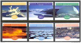 New Zealand Ross Dependency Sc# L49-L54 MNH 1998 Ice Formations - Ross Dependency (New Zealand)
