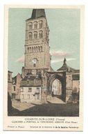 Chromo La Charité-sur-Loire (Nièvre) Clocher Et Portail De L'ancienne Abbaye (Côté Ouest) - Kolarsine Et Pautauberge - History
