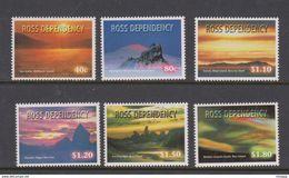 New Zealand-Ross Dependency SG 60-65 1999 Night Skies - Ross Dependency (New Zealand)