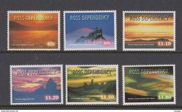New Zealand-Ross Dependency SG 60-65 1999 Night Skies - Ungebraucht