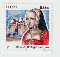 TIMBRE -  2014  -   N°  4834  -  Anne De Bretagne , Duchesse Et Comtesse De Montfort  -  Neuf Sans Charnière - France
