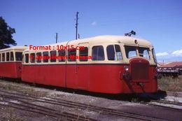 ReproductionPhotographie D'un Train Autorail Montpellier-Palavas En 1963 - Reproductions