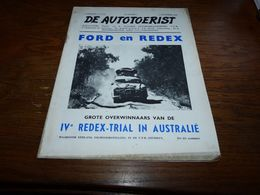 De Autotoerist N°23 1/12/1954 Dessin Suske En Wiske W Vandersteen Pub Englebert Pennzoil Etc Etc Ford En Redex - Revues & Journaux