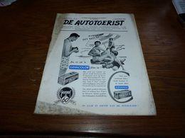 De Autotoerist N°15 1/8/1954 Bonheiden Rijmenam Keerbergen Volvo PV-444 Usine Daf Eindhoven Pub Gulf Francorchamps - Zeitungen & Zeitschriften