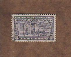 USA.timbres Pour Lettres. (Y&T) 1922 - N°9  * Livraison En Véhicules Motorisés*   * 10c * Obl - United States