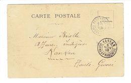 MARCOPHILIE 1 CPA - RIVIERES SUD RIO PONGO - OB KANKAN - 4/11/1903 - TTB - Guinée Française
