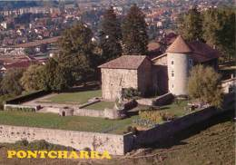 38 - Pontcharra - Le Château Bayard Et Derrière Pontcharra - Carte Neuve - CPM - Voir Scans Recto-Verso - Pontcharra