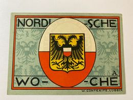 Allemagne Notgeld Lubeck 50 Pfennig - [ 3] 1918-1933 : République De Weimar