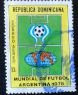 Republica Dominicana - A1/9 - (°)used - 1978 - WK Voetbal - Dominican Republic