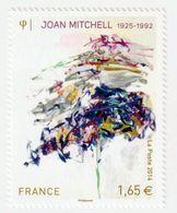 TIMBRE -  2014  - N°  4849 - Série Artistique , Personnalité Joan Mitchell  - Neuf Sans Charnière - France