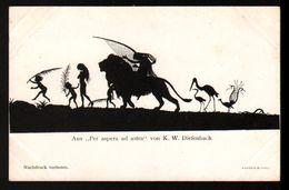 """Illustrateur K. W. Diefenbach, Aus """"Per Aspera Ad Astre"""" (Par Des Sentiers Ardus Jusqu'aux étoiles) - Autres Illustrateurs"""