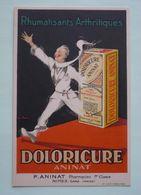 Médicaments- Rhumatisants Arthritiques DOLORICURE  - ANINAT  Pharmacien à  NIMES  - Signature Illustrateur - Santé
