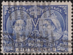 Canada  .  SG   .   134  (2 Scans)       .    O      .   Cancelled.   /   .  Oblitéré - Used Stamps