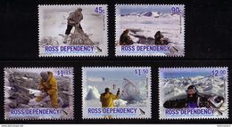 ROSS DEPENDENCY 2006, New Zealand Antarctic Programme Set Of 5v** - Ross Dependency (New Zealand)
