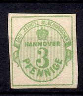Hanovre YT N° 15 Neuf ** MNH. Signé Bühler. TB. A Saisir! - Hanover