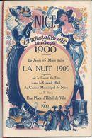 NICE . NUIT 1900 . CINQUANTENAIRE .CASINO MUNICIPAL . AVEC JACQUES TATI - Programmi
