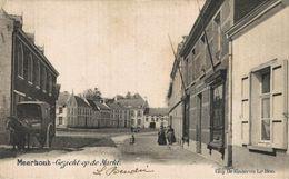 MEERHOUT ( BALEN MOL TURNHOUT ) - GEZICHT OP DE MARKT ( 1905 - ATTELAGE A CHEVAL )   ANTWERPEN  ANVERS Bélgica Belgique - Meerhout
