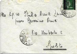 Cachet Militaire Nº 181 Sur Lettre Vers Spoleto 1945. Voir 2 Scan - Correo Militar (PM)