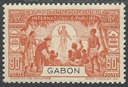 GABON 1931 YT 123** - Nuevos