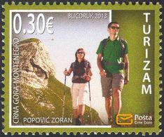 2013, Tourism, Montenegro, MNH - Montenegro