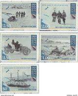 NEW ZEALAND. Ross Dependency. 2008. EXPEDITION TO THE BRITISH ANTARCTIC 1907-1909 . EXPEDICION A - Ross-Nebengebiet (Neuseeland)