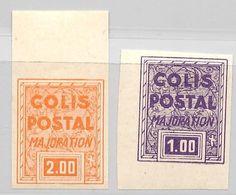 France Colis Postaux Maury N° 165d Et 165e Non Dentelés Neufs ** MNH. TB. A Saisir! - Paketmarken