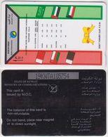 145/ Kuwait; P26. The Flags, CN 19KWTA - Koweït