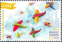 2013, Joy Of Europe, Montenegro, MNH - Montenegro