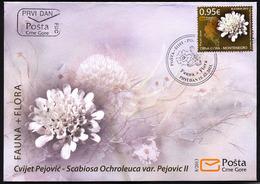 2013, FDC, Flora And Fauna, Montenegro, MNH - Montenegro