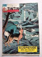 TINTIN N° 726    ARCHEOLOGIE A GUISE ( 4p ) SANS LE POINT TINTIN DECOUPE A LA PAGE 21 - Tintin