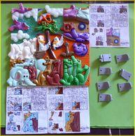 KINDER PUZZLE ARCHE DE NOE K98 FRANCE 1997 COMPLET MQ DES NOTICES - Puzzles