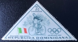 Republica Dominicana - A1/9 - (°)used - 1957 - Olympische Spelen - República Dominicana