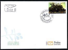 2013, FDC, Nature Conservation, Montenegro, MNH - Montenegro