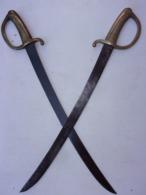 Sabres Briquet Empire , 2 Pièces. - Knives/Swords
